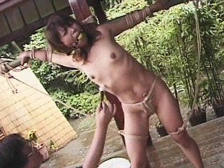Chinese girl  and confined with fuck..