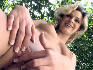 Little blonde cutie Crissy Kay gets..