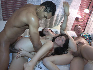 Sex party with a  session