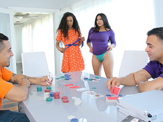 Unwrap Poker And Stroke Her